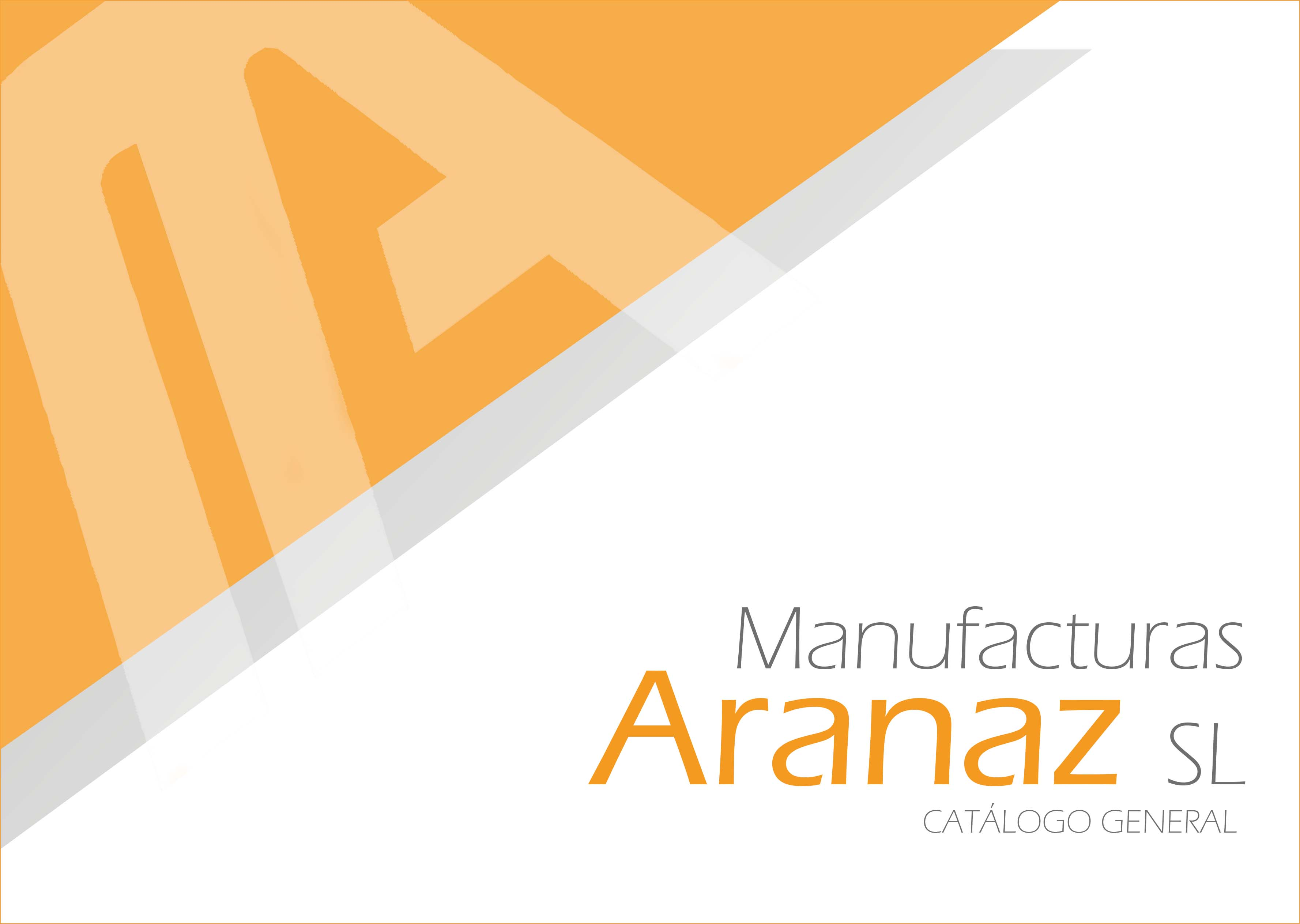 catalogo aranaz general 2016 2018 portada